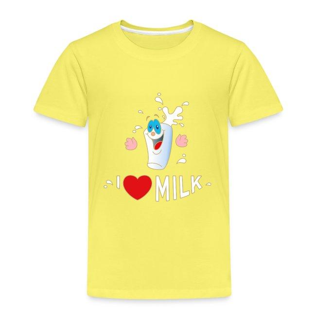 I love Milk Kuh Weide Sahne Schokolade Milchkaffee