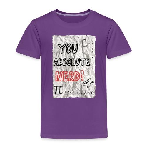 You absolute nerd copy png - Kids' Premium T-Shirt