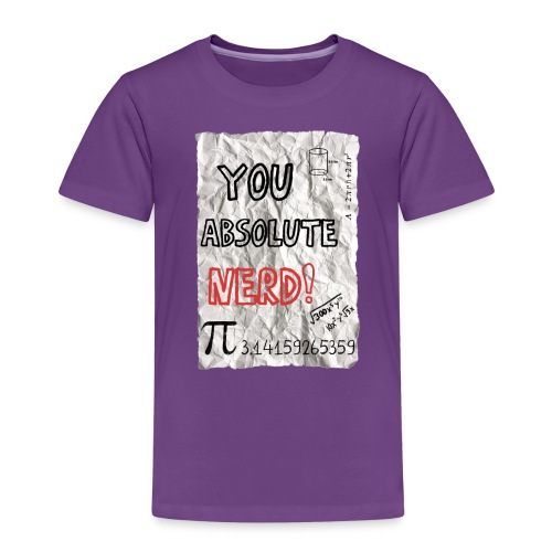 You absolute nerd copy png - Kids' Premium T-Shirt