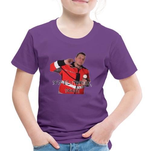 Sievi mit RR-Manschette SO'N BLUTDRUCK, DOOO! - Kinder Premium T-Shirt