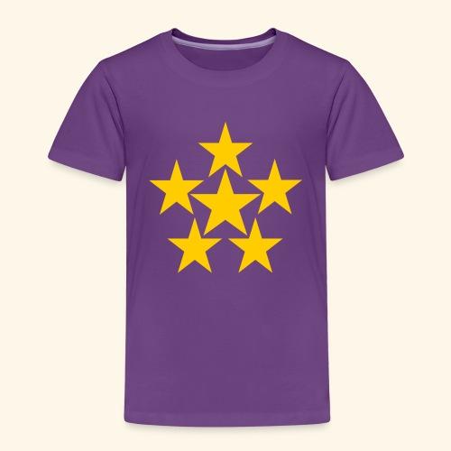 5 STERN gelb - Kinder Premium T-Shirt