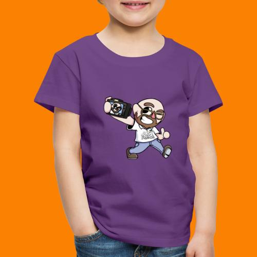 Animation Design Just Friends - Kinderen Premium T-shirt