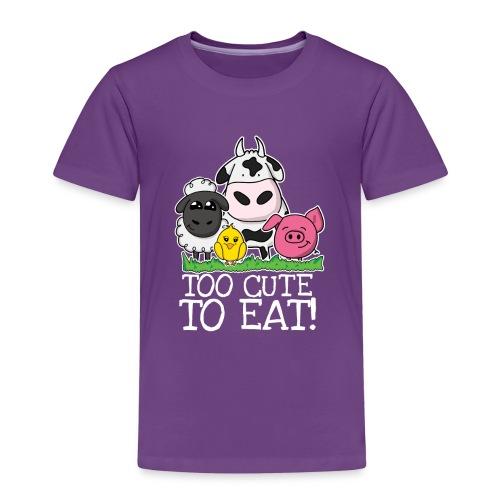 Too cute to eat - Kinder Premium T-Shirt