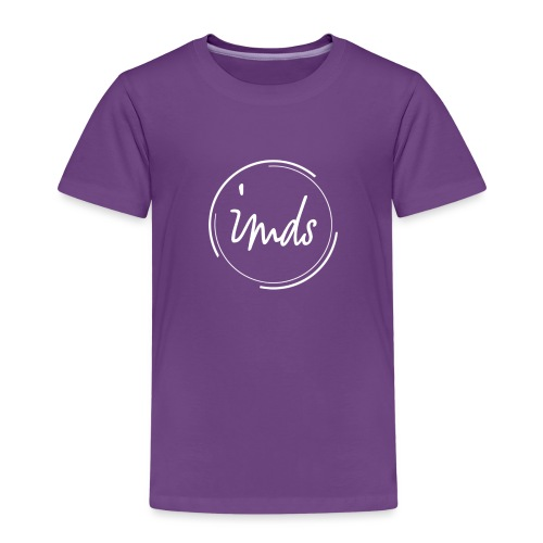 logo signature blanc - T-shirt Premium Enfant