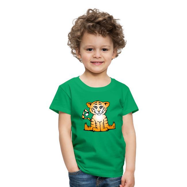 De welp van de tijger - Kinderen Premium T-shirt