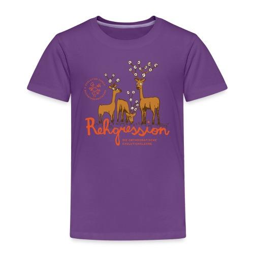 Rehgression - Kinder Premium T-Shirt