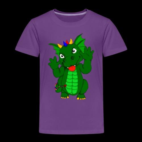 Drache Frechdachs - Kinder Premium T-Shirt