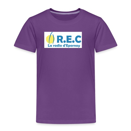 REC 2667x1161 PNG - T-shirt Premium Enfant