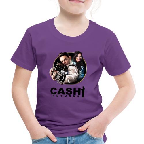 CR Circle Black Logo Design - Kids' Premium T-Shirt