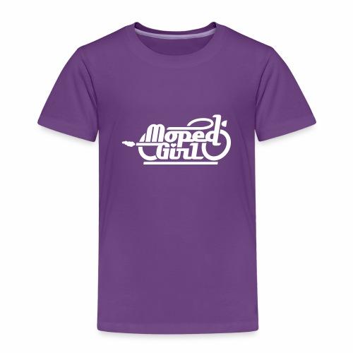 Moped Girl / Mopedgirl (V1) - Kids' Premium T-Shirt