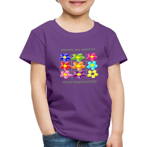 logo of my #MultiDimensionalMotors blog - Maglietta Premium per bambini