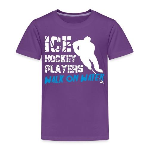 Ice Hockey Players Walk on Water - Kids' Premium T-Shirt
