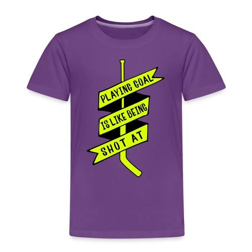 playing_goal_is_like_bein - Kids' Premium T-Shirt