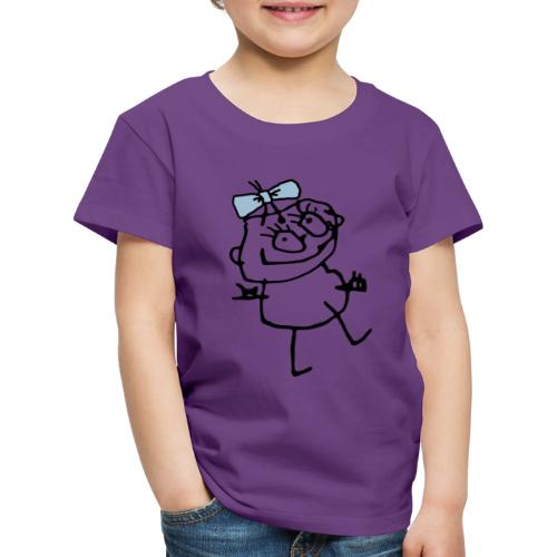 Lill-Inga Blå - Premium-T-shirt barn