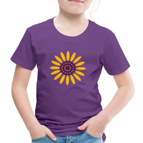 sunflower - Lasten premium t-paita