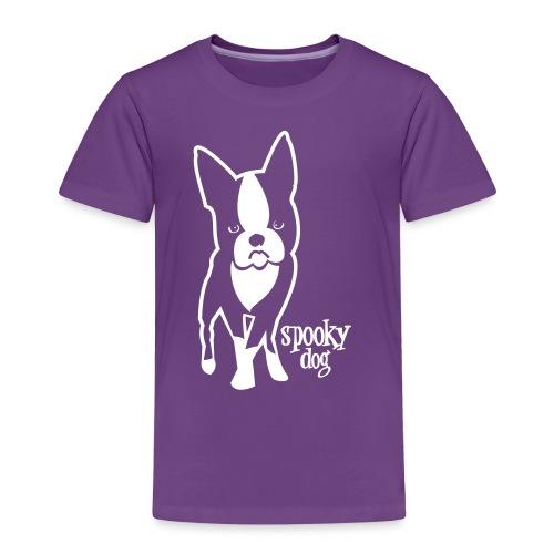 spooky dog stehend - Kids' Premium T-Shirt