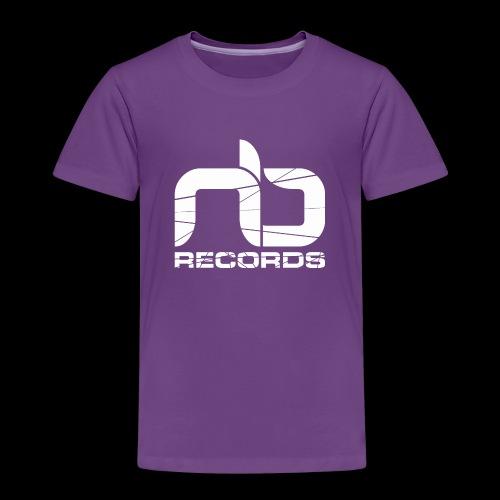 nb reclogo dropout white gif - Kids' Premium T-Shirt