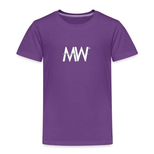 LOGO T BLANC GRIS png - T-shirt Premium Enfant