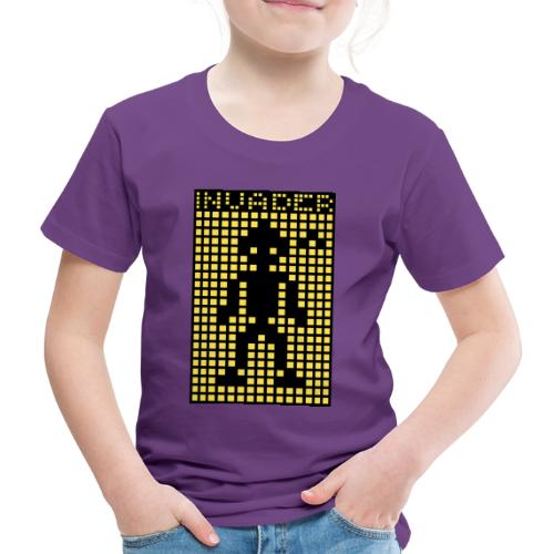 Invader (the greys) - Kids' Premium T-Shirt