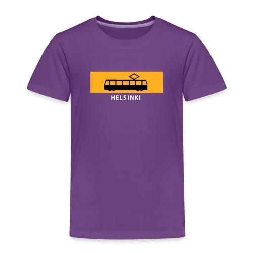 RATIKKA PYSÄKKI HELSINKI t-paidat ja tekstiilit - Lasten premium t-paita