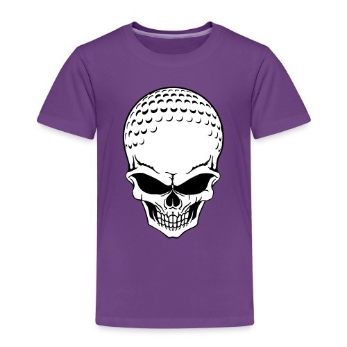Golf Skull 01 - Kinderen Premium T-shirt