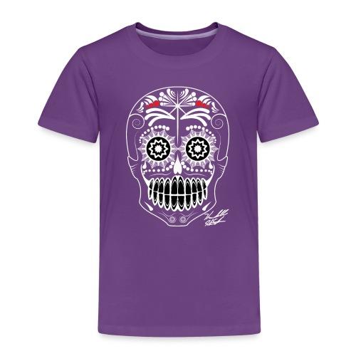 white skull - Kids' Premium T-Shirt