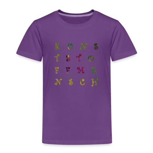 KunstStoffMensch #3 - Kinder Premium T-Shirt