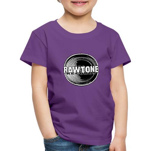 Rawtone Records - full logo - Kids' Premium T-Shirt