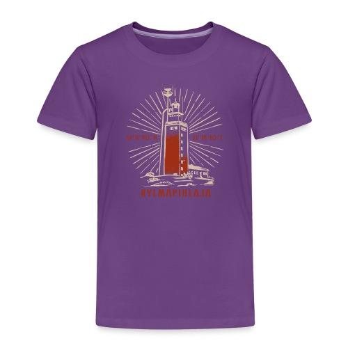 KYLMÄPIHJALAN MAJAKKA tekstiilit ja lahjatuotteet. - Lasten premium t-paita