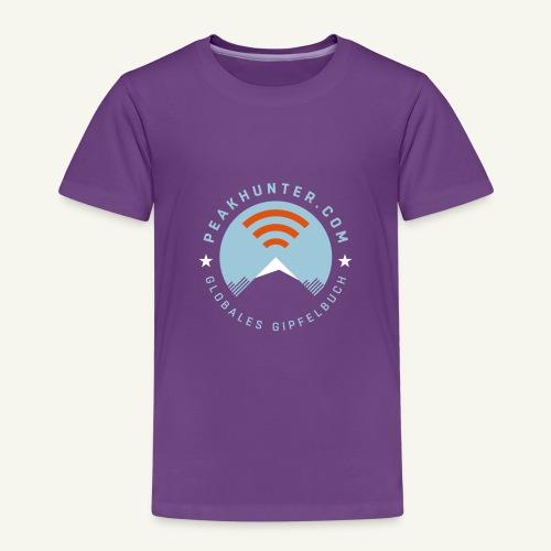 Peakhunter Globales Gipfelbuch - Kinder Premium T-Shirt