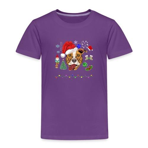 Merry Pitmas - Børne premium T-shirt