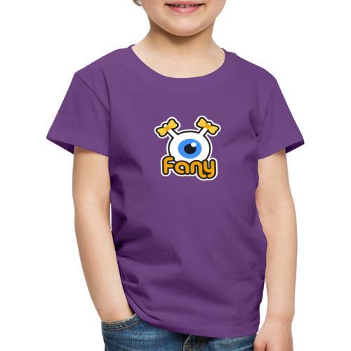 Fany Label (Color) - T-shirt Premium Enfant