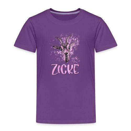 Zicke - Kinder Premium T-Shirt