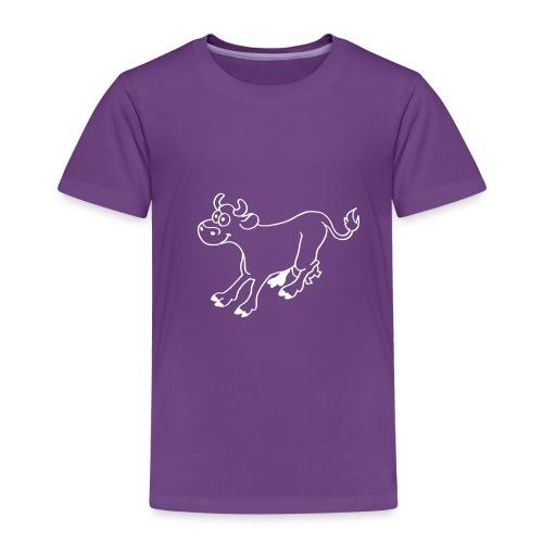 Vache comique - T-shirt Premium Enfant