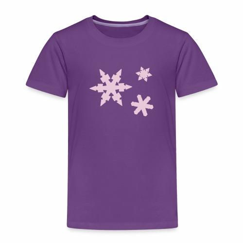 Schneeflocken - Kinder Premium T-Shirt