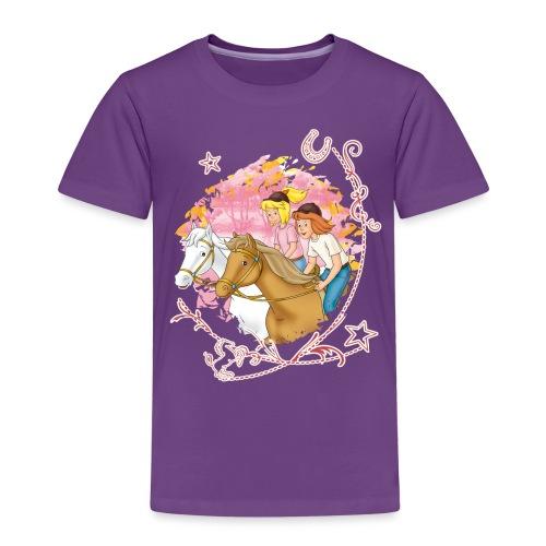 Bibi und Tina 'Wettreiten im Wald' - Kinder Premium T-Shirt