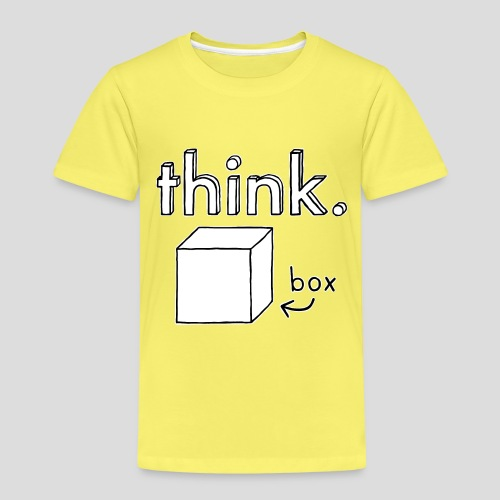 Think Outside The Box Illustration - Kids' Premium T-Shirt