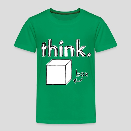 Think Outside The Box Illustration - Kids' Premium T-Shirt