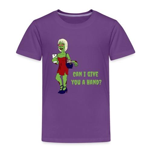 give a hand - Kids' Premium T-Shirt