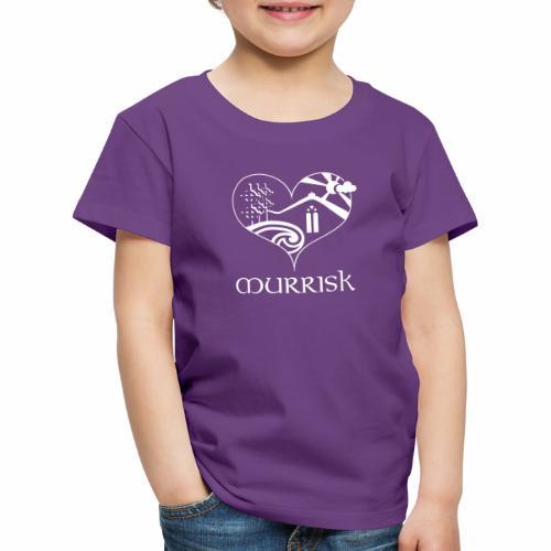 Croagh Patrick in the heart of Murrisk Village - Kids' Premium T-Shirt
