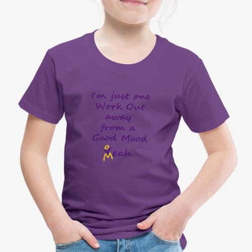 Good Mood Quote design patjila - Kids' Premium T-Shirt