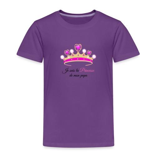 princesse de Papa - T-shirt Premium Enfant