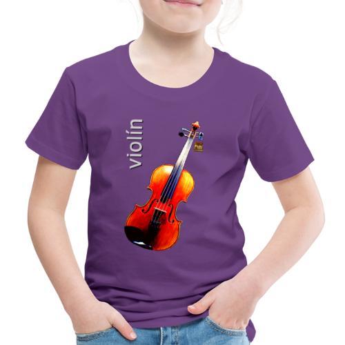 Violín - Camiseta premium niño