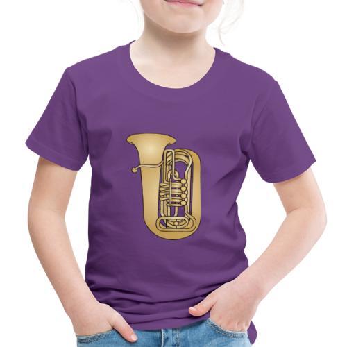 TUBA Blechblasinstrument - Kinder Premium T-Shirt
