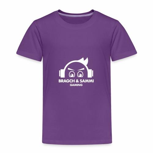 BS game white - Premium T-skjorte for barn