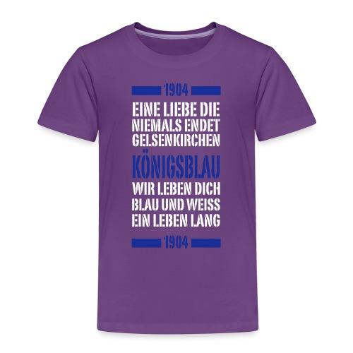 GE Schrift Typo - Kinder Premium T-Shirt