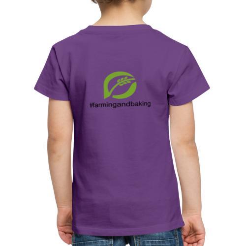 farmingandbaking_logogruen - Kinder Premium T-Shirt