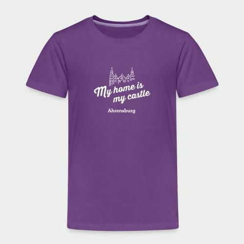 My home is my castle - Ahrensburg (dunkel) - Kinder Premium T-Shirt