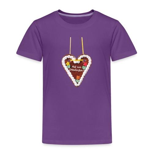 Lebkuchenherz Oktoberfest - Kinder Premium T-Shirt