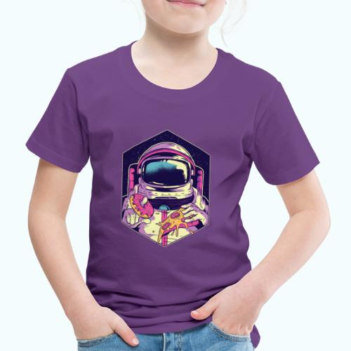 Fast food astronaut - Kids' Premium T-Shirt